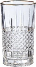 Longdrinkglas Ruit Helder Goud