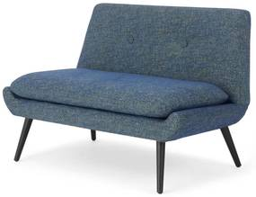Jonny 2-zitsbank, vintage blauw