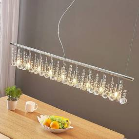 Hanglamp Matei met 9 lampjes, chroom - lampen-24