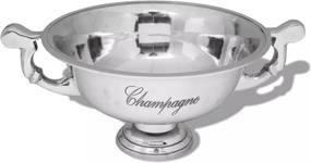 Prijzenbeker champagnekoeler aluminium zilver