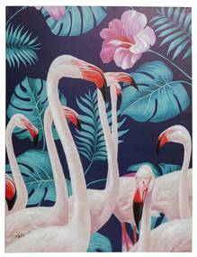 Kare Design Flamingo Road Flamingo Schilderij