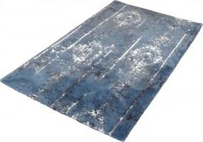 Caracas badmat 70x120x1 cm, ijsblauw