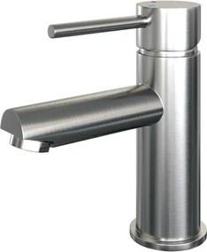 Brauer Brushed Edition wastafelkraan opbouw met standaardgreep ColdStart geborsteld nikkel PVD 5-NG-001