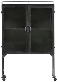 BePureHome Talent XL Lage Metalen Vitrinekast - 81 X 41cm.