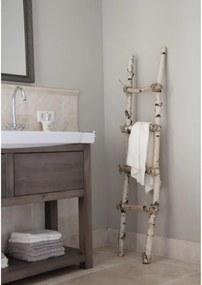 Decoratie Ladder Berk met touw 150 cm