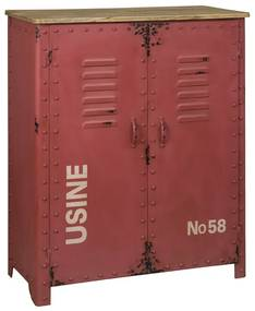 Metalen Lockerkast - 81x36x103cm.