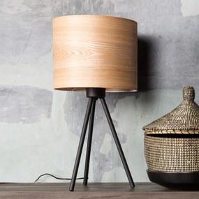 Dutchbone Woodland Tafellamp Met Houten Kap