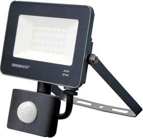 LED Breedstraler 20W Waterdicht IP54 Neutraal Wit, Sensor