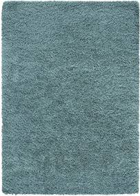 Vloerkleed Norell Shaggy - turquoise - 120x170 cm - Leen Bakker