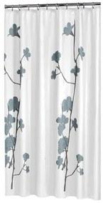 Sealskin Orchid Douchegordijn Polyester 180x200 cm Blauw 233031324