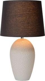 Lucide tafellamp Sally - beige - Ø33 cm - Leen Bakker