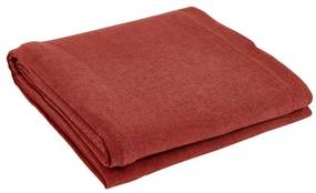 ORGANIC Tafellaken rood B 140 x L 300 cm