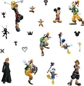 Muurstickers Kingdom Hearts vinyl 20 stuks