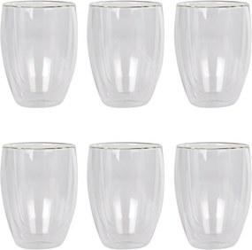 Bodum Pavina dubbelwandig glas 35 cl set van 6