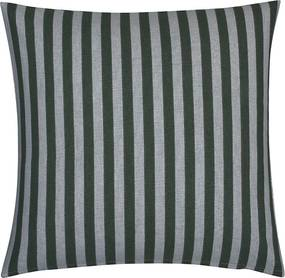 Fresh & Co Sierkussenhoes Medium Stripe Vertical - Groen