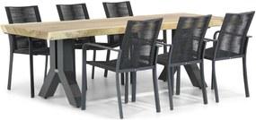 Santika Annisa/Woodside 240 cm dining tuinset 7-delig