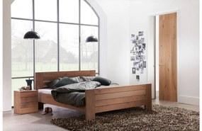 Goossens Bedframe Aberson, 180 x 210 cm met hoog voetbord