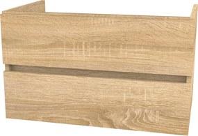 Napoli wastafelonderkast 90x45 cm. sonoma oak