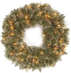 National Tree Company Glittery Bristle kerstkrans 61 cm