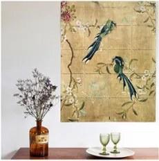IXXI Panel of Chinese painted wanddecoratie 80 x 100 cm