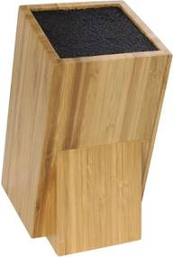 Universeel houten messenblok