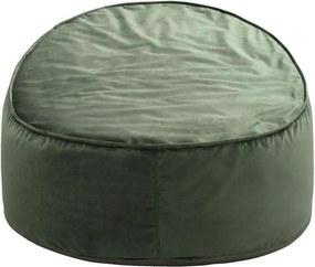 Loungestoel Eclips - olijfgroen - 80x90x60 cm - Leen Bakker