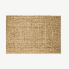 Aminatta vloerkleed, groot, 160 x 230 cm, jute