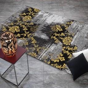 Vloerkleed Diana Melody - Grijs/Geel 40 x 60 cm