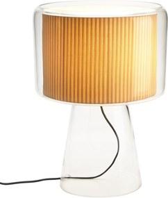 Marset Mercer tafellamp naturel katoen