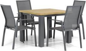 Lifestyle Ultimate/Veneto 90 cm dining tuinset 5-delig