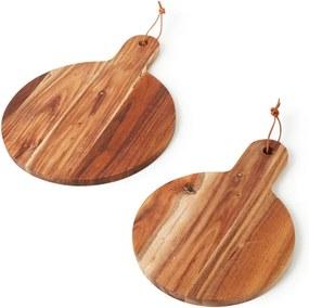 House Doctor Snijplank van acacia hout set van 2