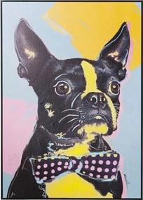 Kare Design Touched Hond Warhol Stijl