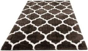 Hoogpolig vloerkleed, »Soraya«, Leonique, rechthoekig, hoogte 40 mm, machinaal geweven