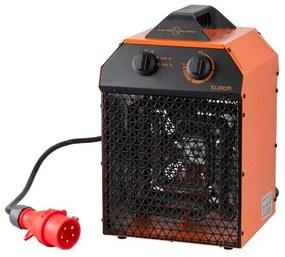 Eurom Industrial EK Delta 5000 Werkplaatskachel 5000watt Rood 332841