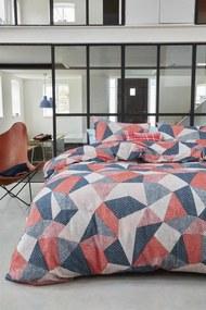 Beddinghouse | Dekbedovertrekset Thoms tweepersoons: breedte 200 cm x lengte 200/220 cm + rood dekbedovertrekken flanel | NADUVI outlet