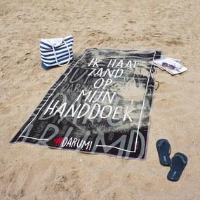 #DARUM! Strandlaken - Ik haat zand op mijn handdoek!