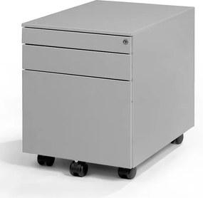 Verrijdbaar Ladeblok Medium 60 Plus - 3 laden - Aluminium