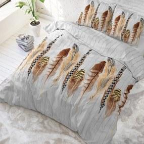 Sleeptime Elegance Delight Feathers - Wit 1-persoons (140 x 220 cm + 1 kussensloop) Dekbedovertrek