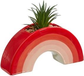 Kunstplant In Pot Rainbow