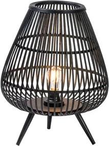 BOZA Ledlamp E27 zwart H 49 cm; Ø 37.5 cm