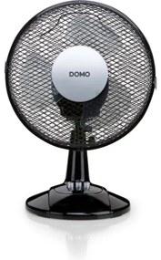 Domo Tafelventilator Waaierdiameter 23cm 2 snelheden zwart DO8138