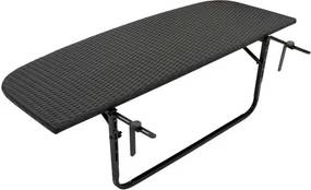 Balkontafel Poly rattan XL