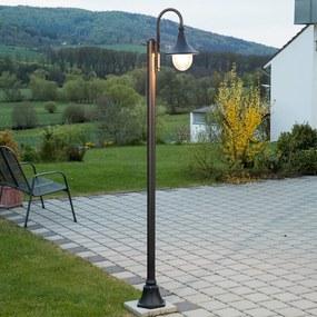 Zwarte mastlamp Daphne - lampen-24
