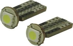 Led lampen SMD T10 12v 3W per 2 stuks