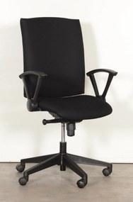 Bureaustoel , zwart, 2D armleggers