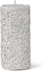 &Klevering Pillar Glitter Large kaars 15 cm