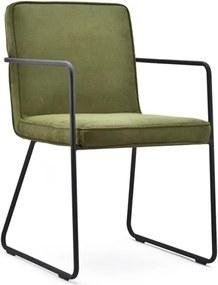 By-Boo Charly Comfortabele Eetkamerstoel In Het Groen