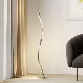 Criostal LED vloerlamp met kleurverandering - lampen-24