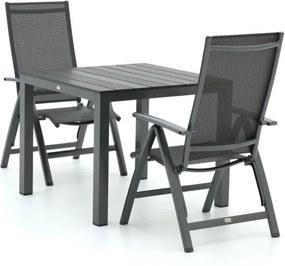 Bellagio Avenza/Fidenza 90cm dining tuinset 3-delig verstelbaar - Laagste prijsgarantie!