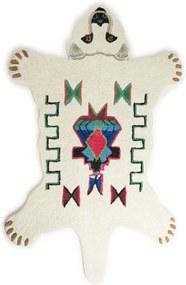 Doing Goods Kasbah Polar Bear vloerkleed 153 x 93 cm
